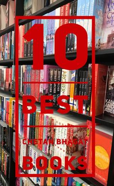 10 best Chetan bhagat books to read this year! New Books, Good Books, Books To Read, Movie 3 Idiots, Chetan Bhagat Books, Corruption In India, Half Girlfriend, Delhi Girls, English Writers