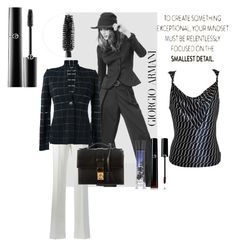 """Giorgio Armani fashion"" by krystalkm-7 ❤ liked on Polyvore featuring Giorgio Armani"