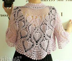 Crochet Bolero Pattern, Crochet Cape, Crochet Jacket, Crochet Cardigan, Crochet Shawl, Hand Crochet, Knit Crochet, Free Crochet, Youtube Crochet Patterns