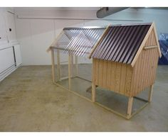 Hønsehus, Et hønsehus som tilbyder overdækket hønsegård