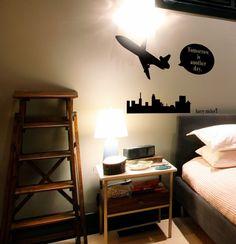 wallsticker travel Wallpaper interior Design