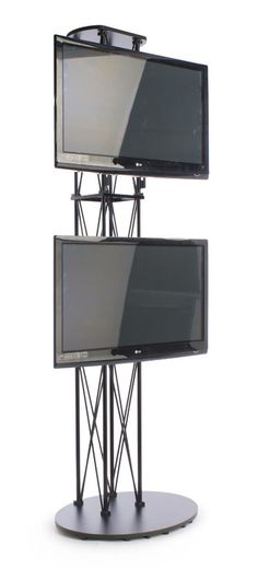 Expo Tv Stands : Portable tv stand trade show and stands on pinterest