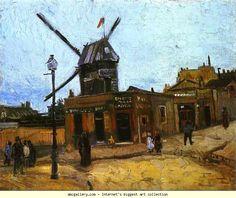 Vincent van Gogh. Le Moulin de la Galette. Olga's Gallery.