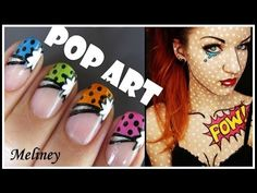 POP ART FRENCH TIP MANICURE
