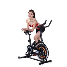 Rhegeneshop Exercise Training Bike Workout Bicycle Indoor Fitness Stationary Cardio Gym. strenuous impact on your joints that occurs on a treadmill Large, non-slip footplates. Dual-direction: forward and backward elliptical action. Chain-driven fan wheel runs quietly and smoothly 4 functions on-board computer (Time, Speed, Distance and Calories). Strength Training Equipment. Adjustable Sit up Bench Crunch Board.