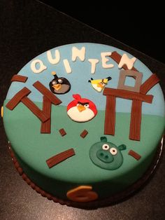 Angrybird taart