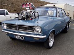 Blown HB Torana (Holden, Australian Car)