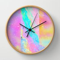 Wall Clocks featuring Get Away With It by Danny Ivan