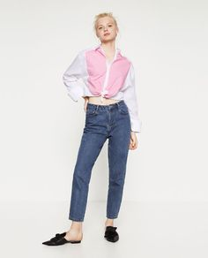 ZARA - COLLECTION AW16 - MOM JEANS