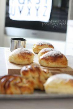 Heartshaped buns