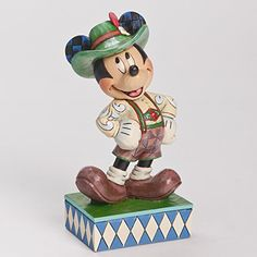 """Released 2014. """"Greetings from Germany"""" - Mickey Mouse Figurine. 4043633"""