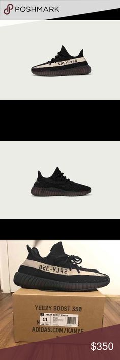 Yeezy 350 Boost V2 Will be 300 on site. Not my pics, real ones will be up soon. Yeezy Shoes Sneakers
