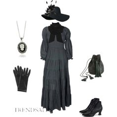 Coord with Lisbeth Sandahl dress by shortcuttothestars on Polyvore featuring мода, LIU•JO, Wendy Nichol, Dolce Giavonna, Forzieri, Yves Saint Laurent and NERIDA FRAIMAN