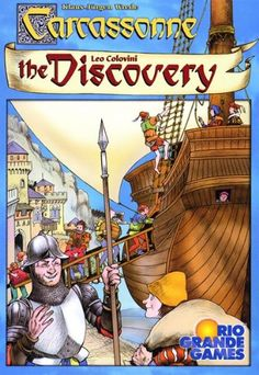 Carcassonne  Discovery - one of my favorite versions of this game that I  also teach ebfd0f79d708
