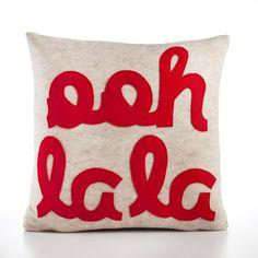 Alexandra Ferguson: Ooh La La Pillow