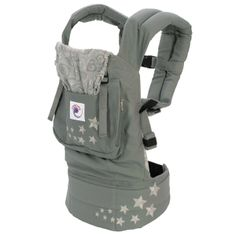 Out of all the carriers I tried, I LOVE the Ergo baby carrier. Our son has always been in the 98% for weight, so he outgrew the wraps and Bjorn way too young. The Ergo carrier lets you carry a baby up to 45 lbs without any pain or strain on your back.