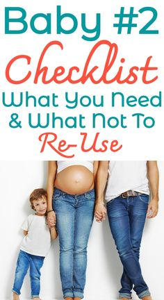 Pregnant with Baby 2 number Here's a SUPER helpful second baby checklist. - Pregnant with Baby 2 number Here's a SUPER helpful second baby checklist. What NOT to reuse wh - 2nd Baby, Second Baby, Mom And Baby, Pregnancy Goals, Second Pregnancy, Pregnancy Advice, Baby Must Haves, Baby Number 2, Kids Fever