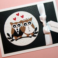 Personalized Wedding Card Anniversary Card by PuppyLoveCreations