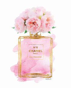 hellomrmoon : Chanel No.5 Soft Pink Peony