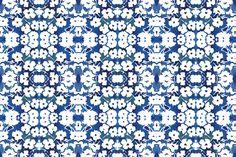 cestlaviv_bluewhite_2015 fabric by cest_la_viv on Spoonflower - custom fabric