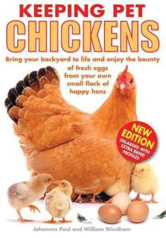 Keeping Pet Chickens: Bring Your Backyard to Life and Enjoy the Bounty of Fresh Eggs from Your Own Small Flock of...