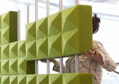 Fabricks Acoustic Brick - Product Page: http://www.genesys-uk.com/Fabricks-Acoustic-Brick.Html  Genesys Office Furniture Homepage: http://www.genesys-uk.com  The Fabricks Acoustic Brick range comprises of super acoustic bricks made from acoustic foam and wool fabric, designed to look fabulous, divide space and reduce noise.