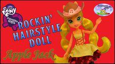 Check out our MLP Applejack Rockin Hairstyle Equestria Girls Review :)  #Playdoh #Equestriagirls #Rainbowdash #Rarity #Applejack #Fluttershy #Pinkiepie #Twilightsparkle #MLP #Mylittlepony #Pony #Brony #Tvseries #MLPTvseries #Friendshipismagic #Rainbowrocks #Friendshipgames #Scooterloo #Dolls #Dollreview