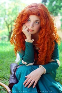 Merida Cosplay : I cant get away from anything ! by *thecrystalshoe