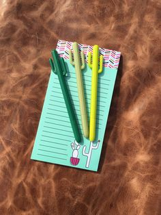 Calling ALL cactus lovers, this pen is for you!!!