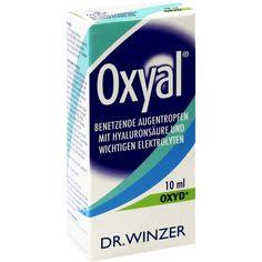 OXYAL Augentropfen:   Packungsinhalt: 10 ml Augentropfen PZN: 03114477 Hersteller: Dr. Winzer Pharma GmbH Preis: 9,48 EUR inkl. 19 %…