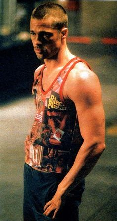 Brad Pitt Fight Club promo by Steven Klein - Google Search: