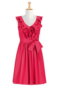 Victoria Dress in Watermelon!  Perfect spring dress!  Love it!
