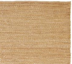Heathered Chenille Jute Rug - Natural | Pottery Barn