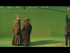 Bloopers from The Hobbit - Gandalf what are you talking about? I don't know. <- best