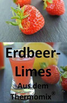 Rezept für Erdbeerlimes aus dem Thermomix - altbewährt