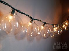 Top 5 DIY string lights (these are made out of Christmas ornaments!)