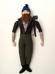 Tattooed Lumberjack