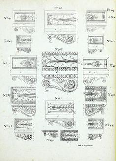 Recueil de dessins, d'ornemens, d'architecture lithographies : publie par Tirrart... ses magasins a Paris -  by Tirrart (Firm) - 1830
