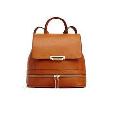 Aldo cognac backpack