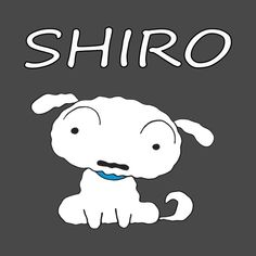 Check out this awesome 'Shiro+Shinchan+pet+dog+Crayon+Shin+chan' design on Sinchan Cartoon, Disney Cartoon Movies, Disney Cartoons, Cartoon Characters, Fictional Characters, Crayon Shin Chan, Movie T Shirts, Character Names, Shiro