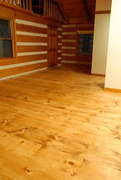 How to DIY finish wide plank pine floors using water based Bona system, Bona Amberseal, Bona Mega. Why we chose waterbased floor finish. Sanding Wood Floors, Plywood Plank Flooring, Pine Wood Flooring, Diy Wood Stain, Diy Wood Floors, Refinishing Hardwood Floors, Farmhouse Flooring, Pine Floors, Diy Flooring