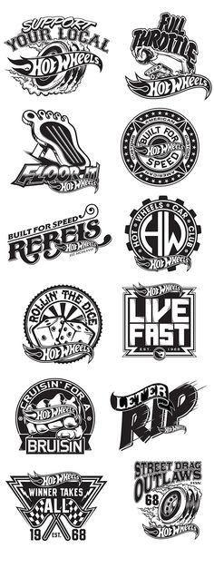 68 Ideas For Design Illustration Logo Inspiration Web Design, Design Art, Graphic Design, Typography Logo, Logo Branding, Typography Design, Hot Wheels, Inspiration Logo Design, Wheel Logo