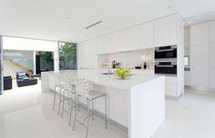 Modern White Kitchen Island Vzozfjm