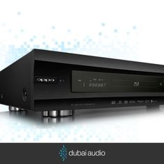 Say hello to the Oppo BDP-105 Universal Audiophile 3D Blu-ray Disc Player.  Stop into our showrooms to learn more.