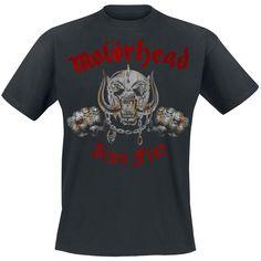 Iron fist - Camiseta por Motörhead #motorhead #bandmerchandise #empspain