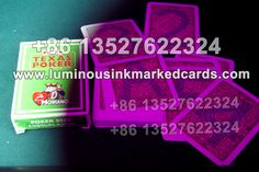 Even for the green back pattern of playing cards, the marks also can be burned invisible perfectly Uv Contact Lenses, Invisible Ink, Deck Of Cards, Poker, Playing Cards, Green, Pattern, Playing Card Games, Model
