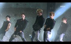 MBLAQ - This is War, 엠블랙 - 전쟁이야, Music Core 20120114