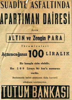 Tutum Bankası ilanı