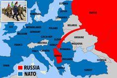Equilíbrio de poder: Rússia vai mover máquinas de guerra para o coração da Europa em meio às tensões com a OTAN. | Dinâmica Global