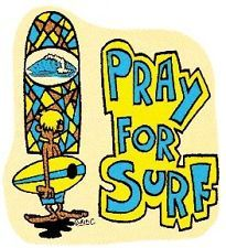 Vintage Surf Decal in Surfing Decals, Patches and Stickers | eBay